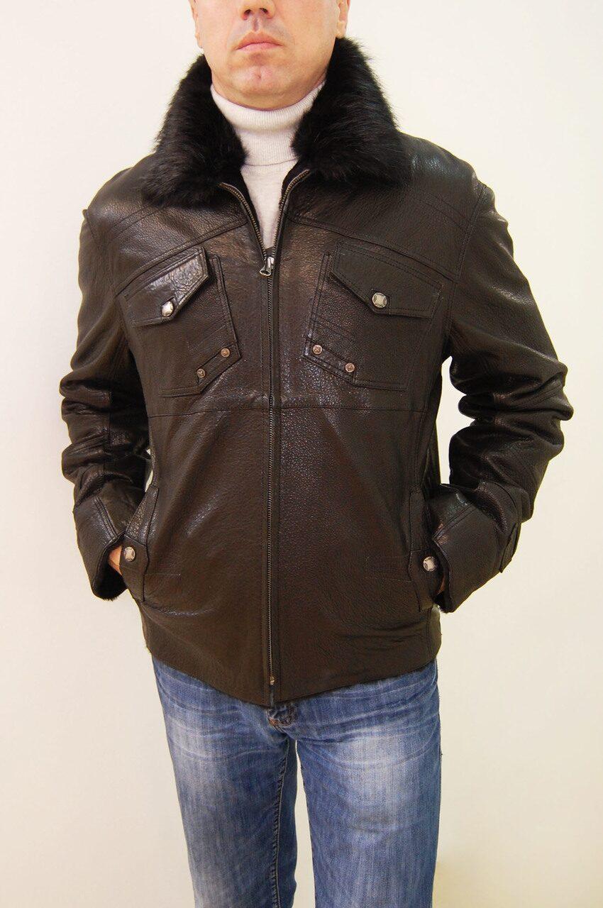 Распродажа мужских кожаных курток 6