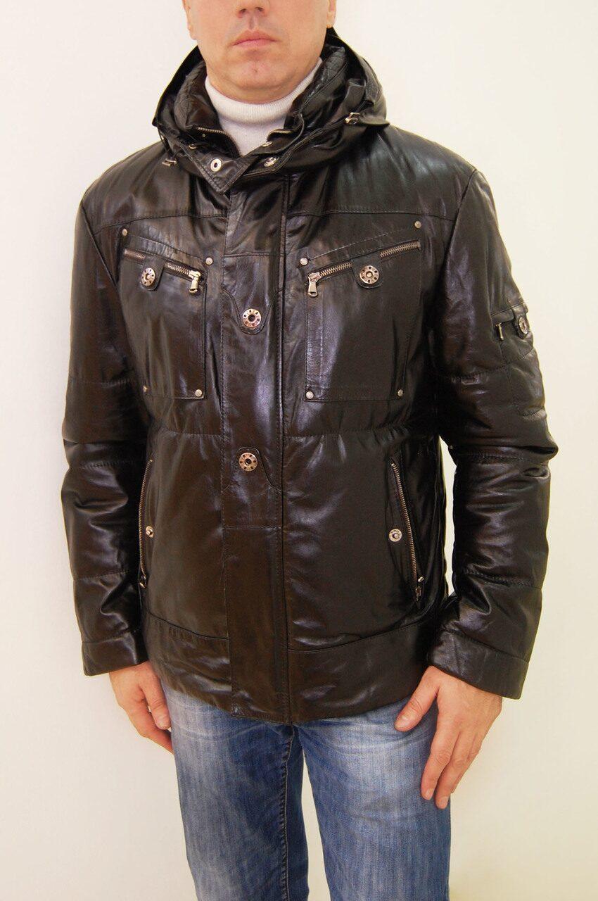 Распродажа мужских кожаных курток 9