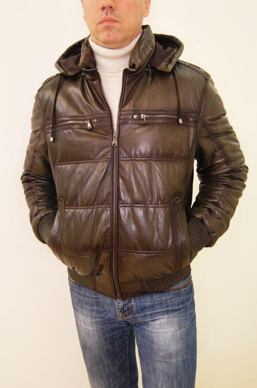 Распродажа мужских кожаных курток 7